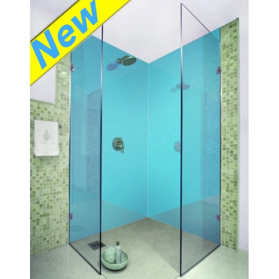 1000MM x 2.4m X 10mm thick Shower wet wall panels Aqua Pearl